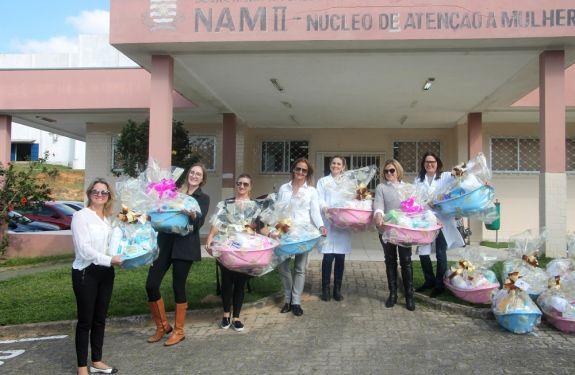 CDL Mulher faz doações ao NAM e ao Ruth Cardoso de BC