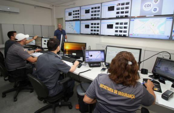 Itajaí: Central de Operações Integradas de Segurança