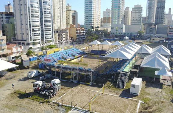 Circuito Brasileiro de Vôlei de Praia Open começa na quarta