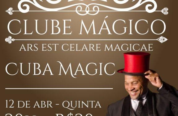 Clube do Mágico traz Show exclusivo para Itajaí