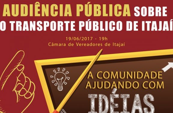 Comissão define data para audiência Pública do Transporte Público