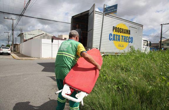 Confira agenda do Cata Treco em Itajaí