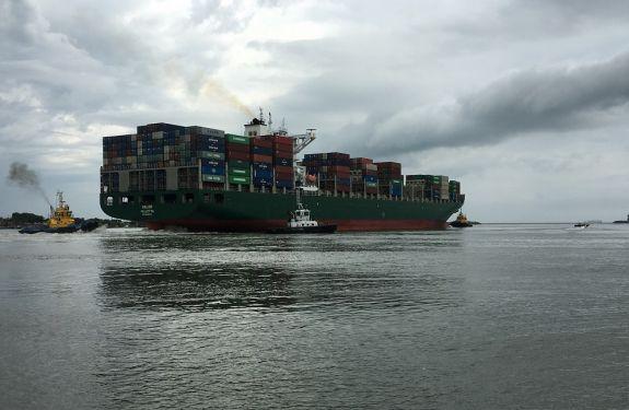 Confirmado a segunda Manobra Especial na Nova Bacia de Evolução do Complexo Portuário de Itajaí.