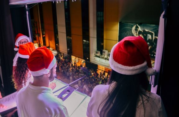 BC: Coral da UniAvan apresenta canções natalinas...