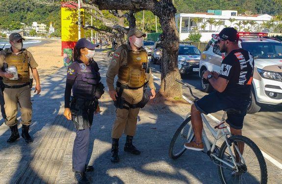 Coronavírus: Itajaí realiza grande força-tarefa de fiscalização de espaços públicos e comércios