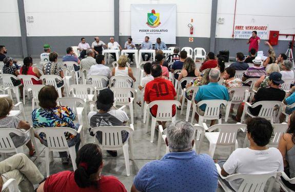 Criação do Bairro Bandeirantes é discutida em reunião pública