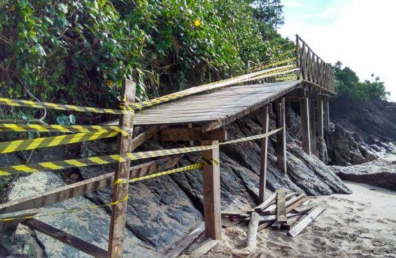 Deck do Morro do Careca será reconstruído pela Prefeitura de BC