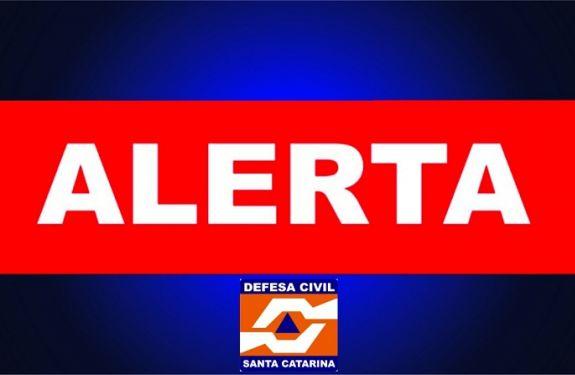 Defesa Civil alerta para chuva persistente com volume elevado em Santa Catarina