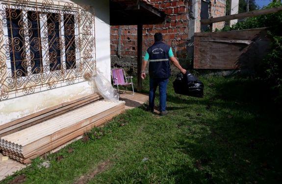 Defesa Civil de Camboriú atende ocorrências após chuvas intensas