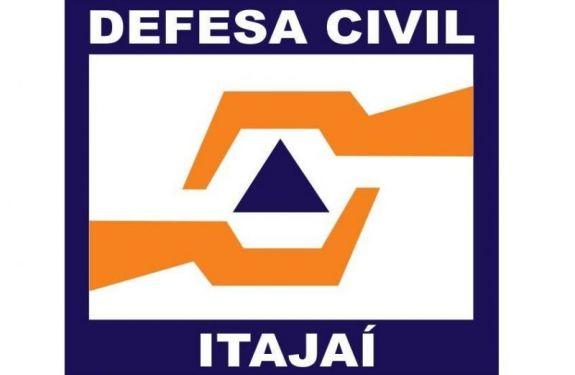 Defesa Civil de Itajaí alerta para risco de deslizamento