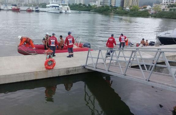 Defesa Civil de ITJ participa de simulado de salvamento aquático