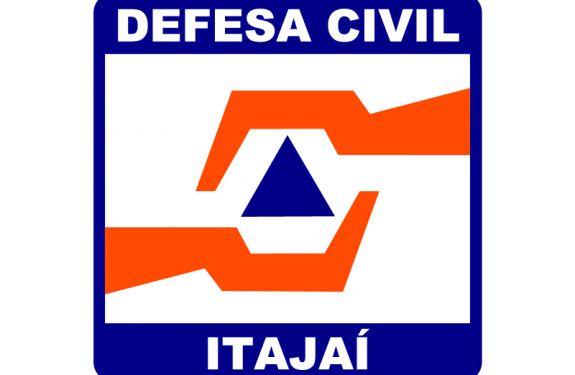 Defesa Civil de ITJ alerta para risco de temporal