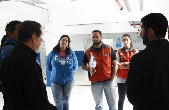 Defesa Civil e Inclusão Social fazem levantamento das condições de abrigo municipal