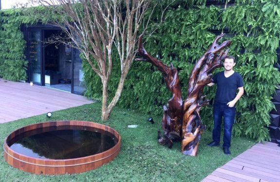 Designer catarinense expõe na Casa Cor SP, SC e PR