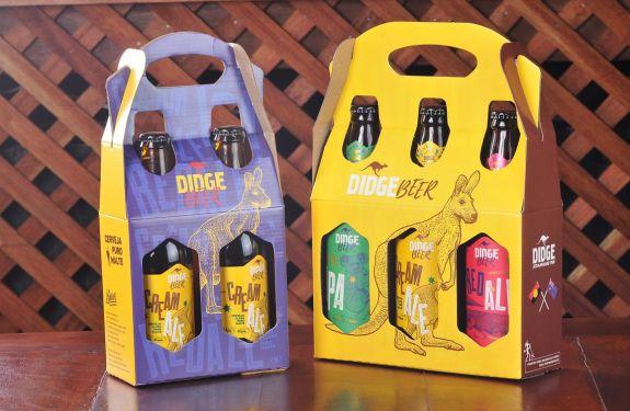 Didge lança linha souvenir de cervejas artesanais com temática australiana