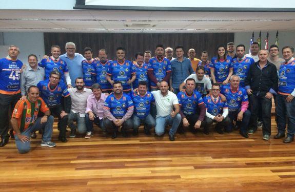 Diretoria do Camboriú FC visita e recebe apoio da Câmara de BC