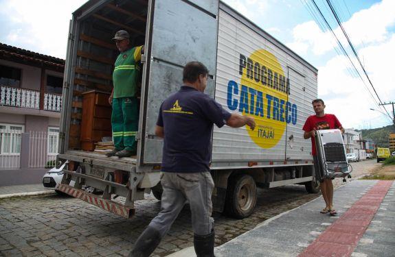 Divulgada agenda do Cata-Treco para próxima semana em Itajaí