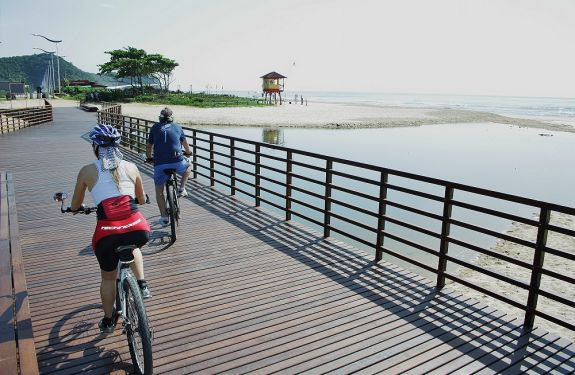 Domingo tem passeio ciclístico até a Praia Brava