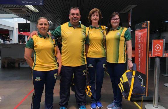 Itajaí: Equipe da Bocha representa o Brasil no Mundial na China