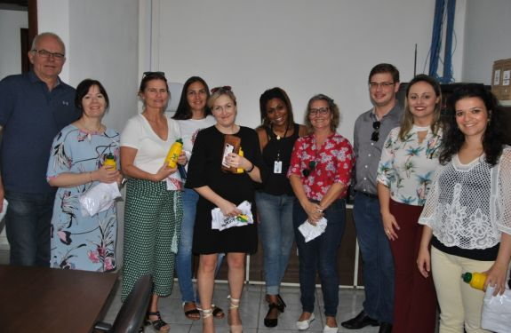 Equipe da Noruega conhece a Saúde de Balneário Piçarras para intercâmbio na área de enfermagem