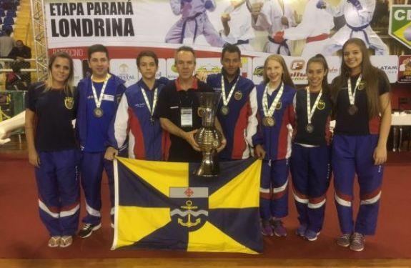 Equipe de Karate de Itajaí conquista 15 medalhas no Brasileiro