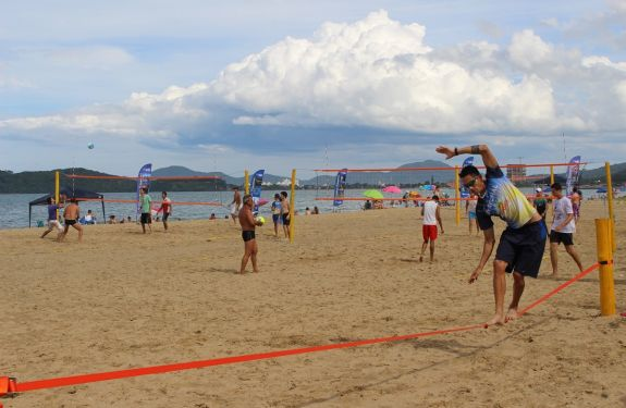Piçarras: Esporte Verão registra mais de 15 mil pessoas