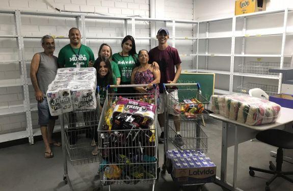 Faculdade Avantis entrega duas toneladas de donativos arrecadados em gincana de Administração