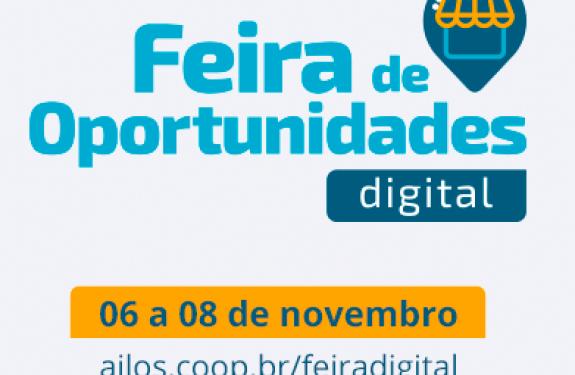 Feira de Oportunidades Digital será de 6 a 8 de novembro...
