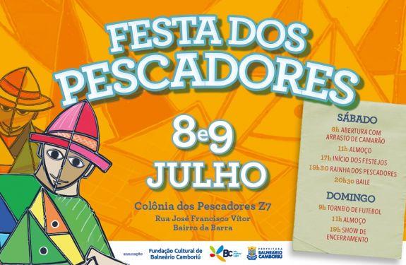Festa do Pescador na Barra acontece até domingo (9) em BC