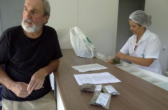 Fitoterápicos podem ser retirados no Parque Raimundo Gonçalez Malta