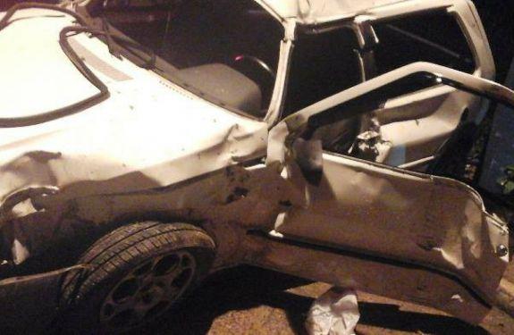Foragido sofre acidente e é preso em BC
