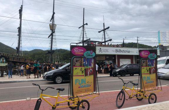 Fun Museu lança campanha para atrair visitantes com diversas ações em Balneário Camboriú e região