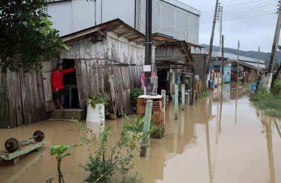 Governo Federal libera verba para cidades atingidas pelas chuvas no Sul