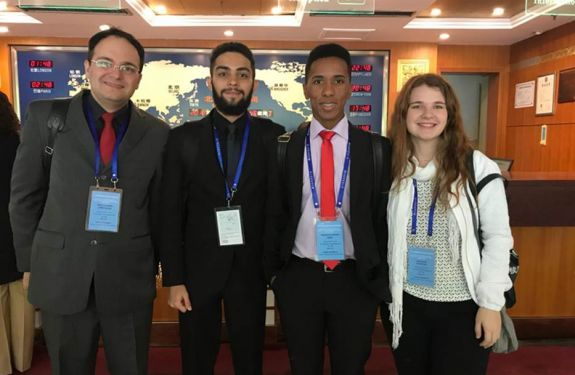 Grupo de Relações Internacionais da Univali participa de evento na China