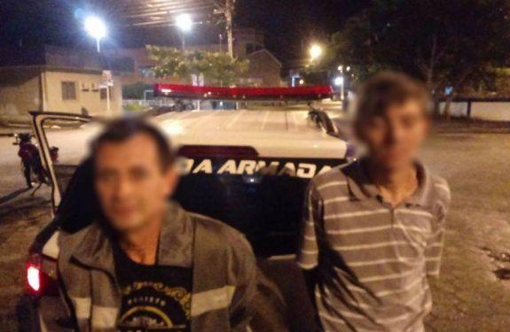 Guarda Municipal de BC prende dupla por furto de motocicleta