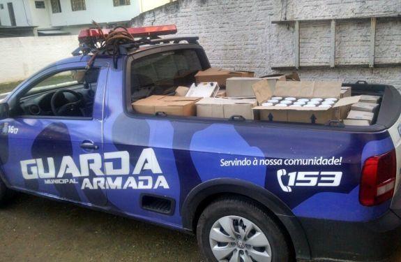 Guarda Municipal e Polícia Civil desarticulam esquema ilegal de fabricação e distribuição de alimentos