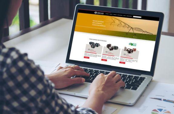 Hercules Motores lança site com design mais moderno e intuitivo