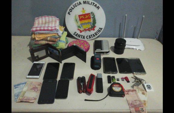 Homens são presos por furto e associação criminosa em Camboriú