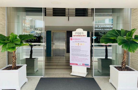Hotel de Balneário Camboriú acolhe profissionais de saúde durante período da pandemia