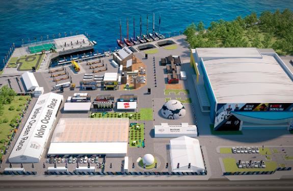 Inicia a montagem da Vila da Regata brasileira que irá receber a Volvo Ocean Race