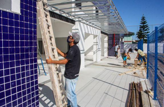 Itajaí: Construção de unidades básicas de saúde está em ritmo acelerado