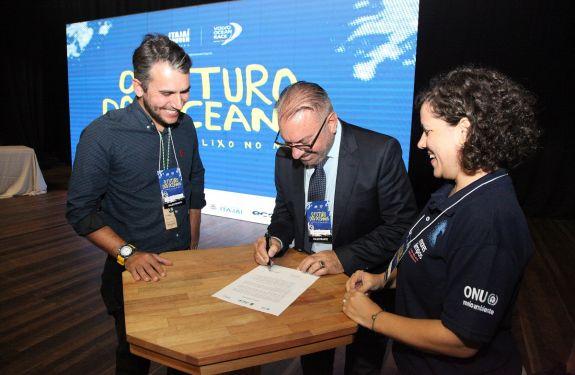 Itajaí levanta bandeira de sustentabilidade da ONU