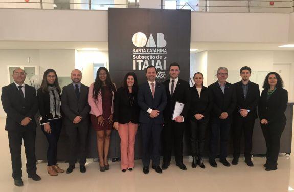 Itajaí: Empossados os membros da Comissão de Promoção da Igualdade Racial da OAB