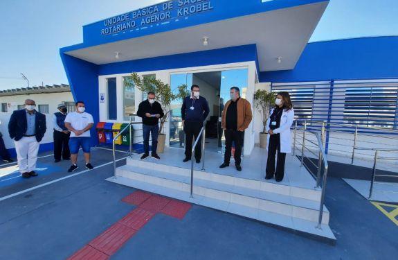 Itajaí entrega novas unidades de saúde às comunidades do Rio Bonito e Bambuzal