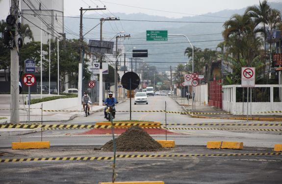 Itajaí: Implantação do retorno viário da rua Heitor Liberato iniciará segunda (08)