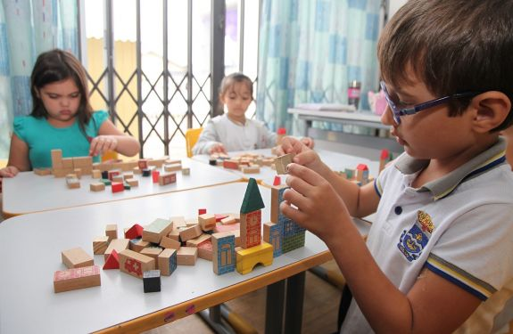 Itajaí: Inscrições para vaga integral para alunos de 4 a 5 anos