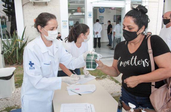 Itajaí já distribuiu mais de 600 mil máscaras para a população