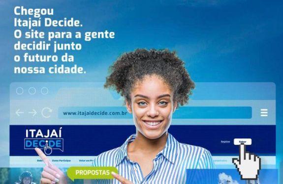 Itajaí lança plataforma digital de gestão participativa inédita no Brasil