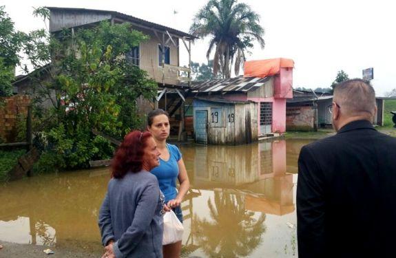 Itajaí monta força-tarefa preventiva para enfrentamento das chuvas