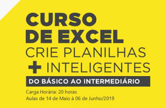 Itajaí: Núcleo de Tecnologia da ACII realiza curso sobre Planilhas Inteligentes no Excel